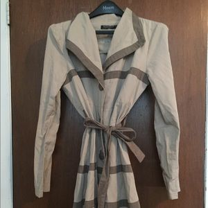 Woman's large Italian Trench Coat